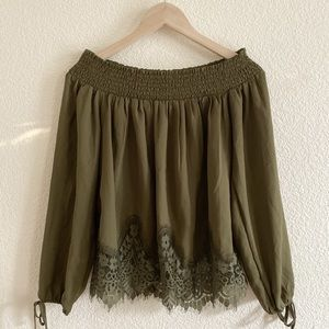 Abercrombie & Fitch Lace Top